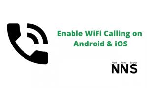 Enable WiFi Calling