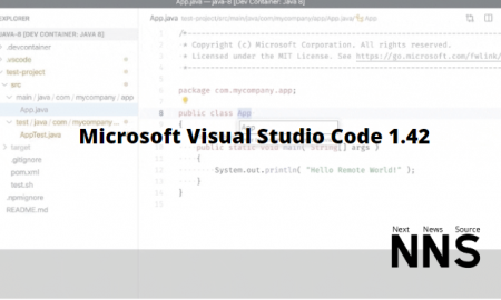 Microsoft Visual Studio Code 1.42