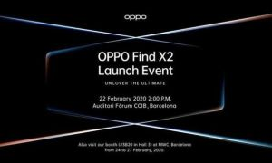 OPPO Find X2 global conference