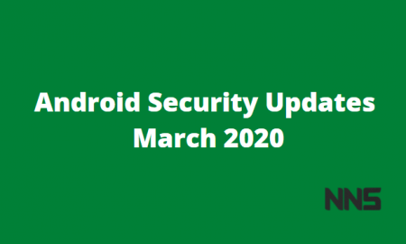 Android Security Updates March 2020