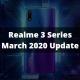 Realme 3 Series Update