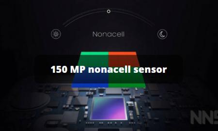 Samsung 150 MP nonacell sensor