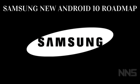 Samsung new Android 10 roadmap