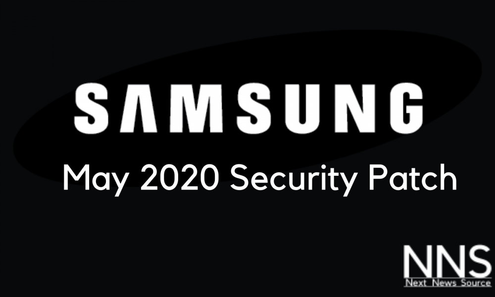 Samsung May 2020 Update