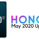 Honor 20S May 2020 Update