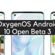 OxygenOS Android 10 Open Beta 3