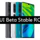 MIUI Beta Stable ROM