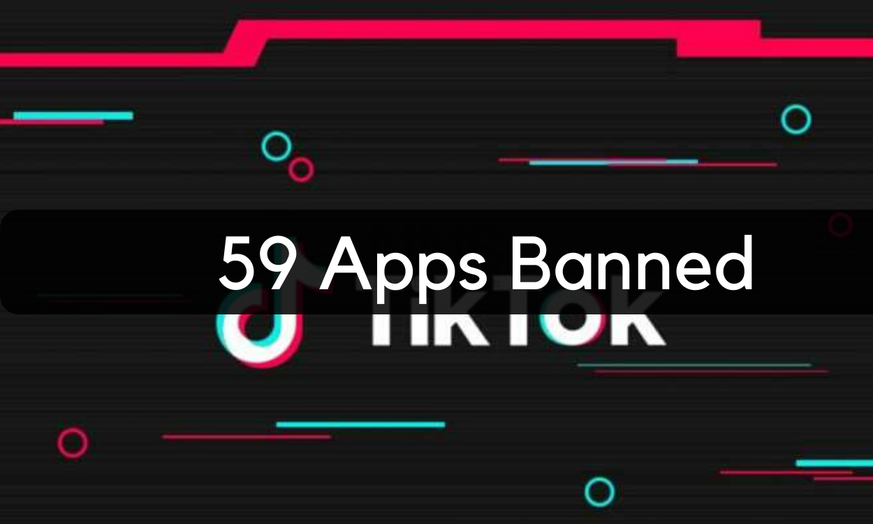 59 apps banned