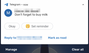 Android Set Reminder