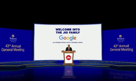 Google investment to Jio