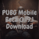 PUBG Mobile Beta 0.19.1