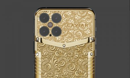 Caviar Golden iPhone 12 Pro