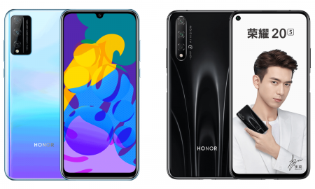 Honor 20S and Honor Play 4T Pro