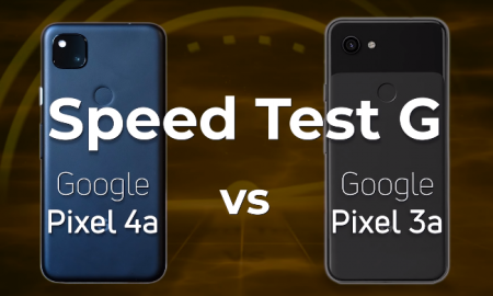Pixel 4a and Pixel 3a Speed Test