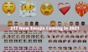 217 New Emojis