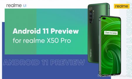 Android 11 Preview for Realme X50 Pro