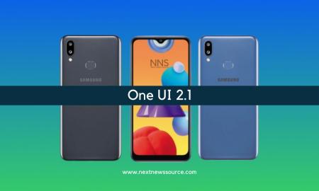 Galaxy M01s One UI 2.1