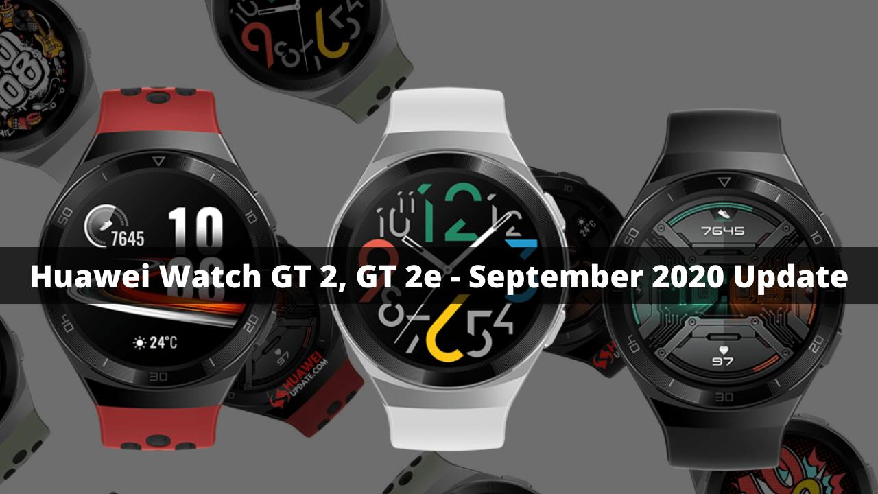 Huawei Watch GT 2, GT 2e