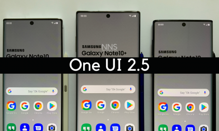 Samsung Galaxy Note 10 series getting One UI 2.5