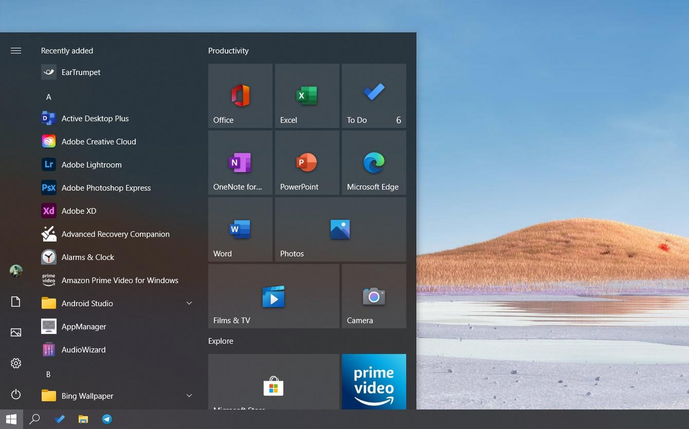 مایکروسافت با منوی شروع جدید به روز رسانی ویندوز 10 را در ماه اکتبر آغاز کرد
