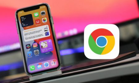 iOS 14 Chrome