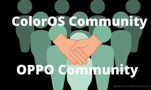 ColorOS community and OPPO community