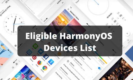 HarmonyOS 2.0 Devices List