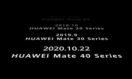 Huawei Mate 40 series lineup
