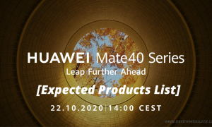 Huawei likely to announce these products on October 22 event