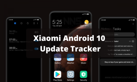 Xiaomi Android 10 Update Tracker