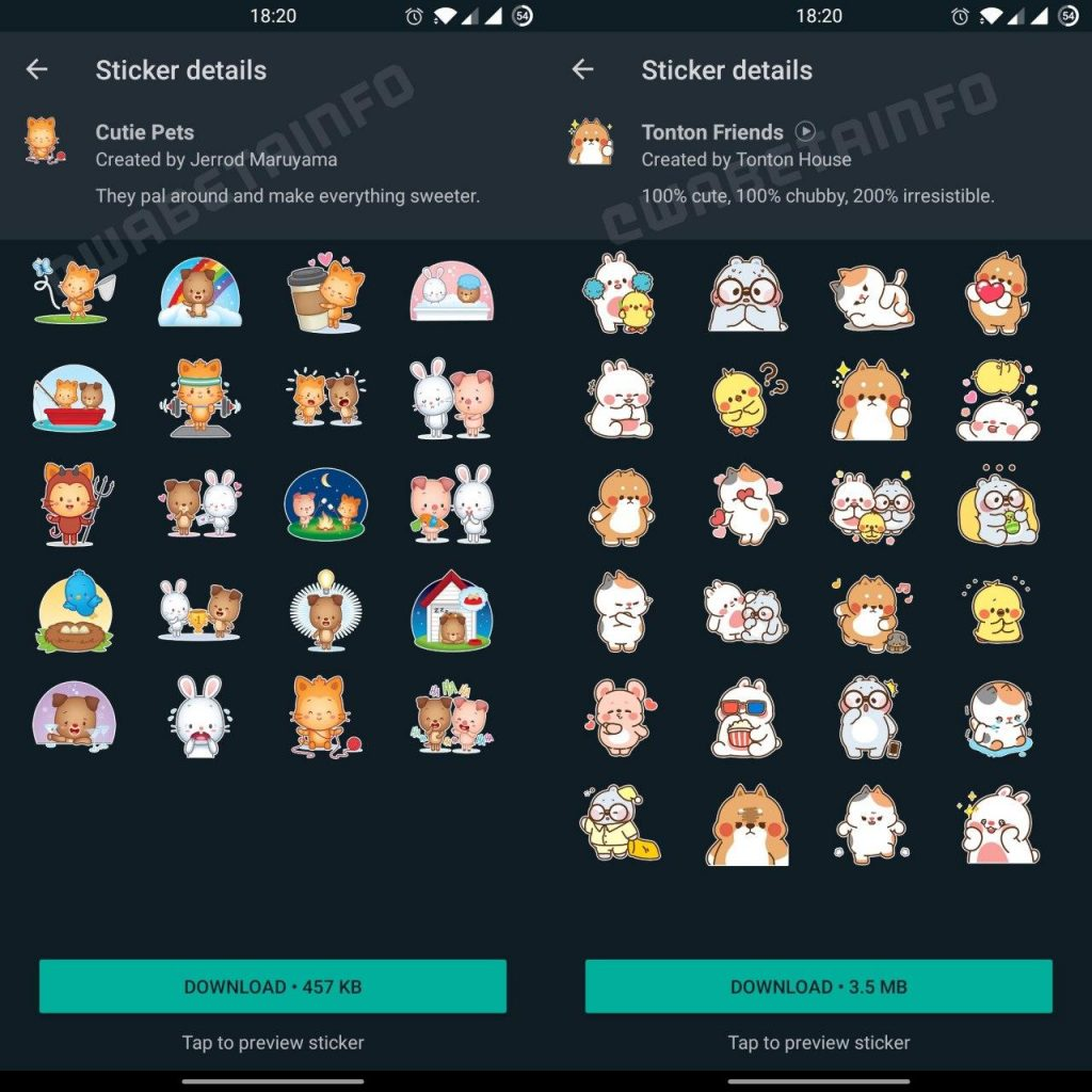 android-stickers-cutiepets-tonton-friends