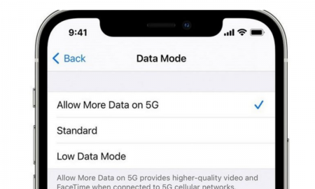 iOS Updates over 5G Data