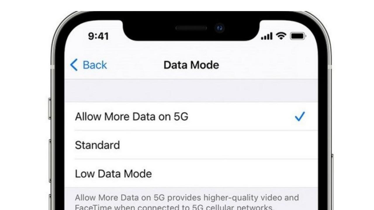 iOS Updates over 5G Data