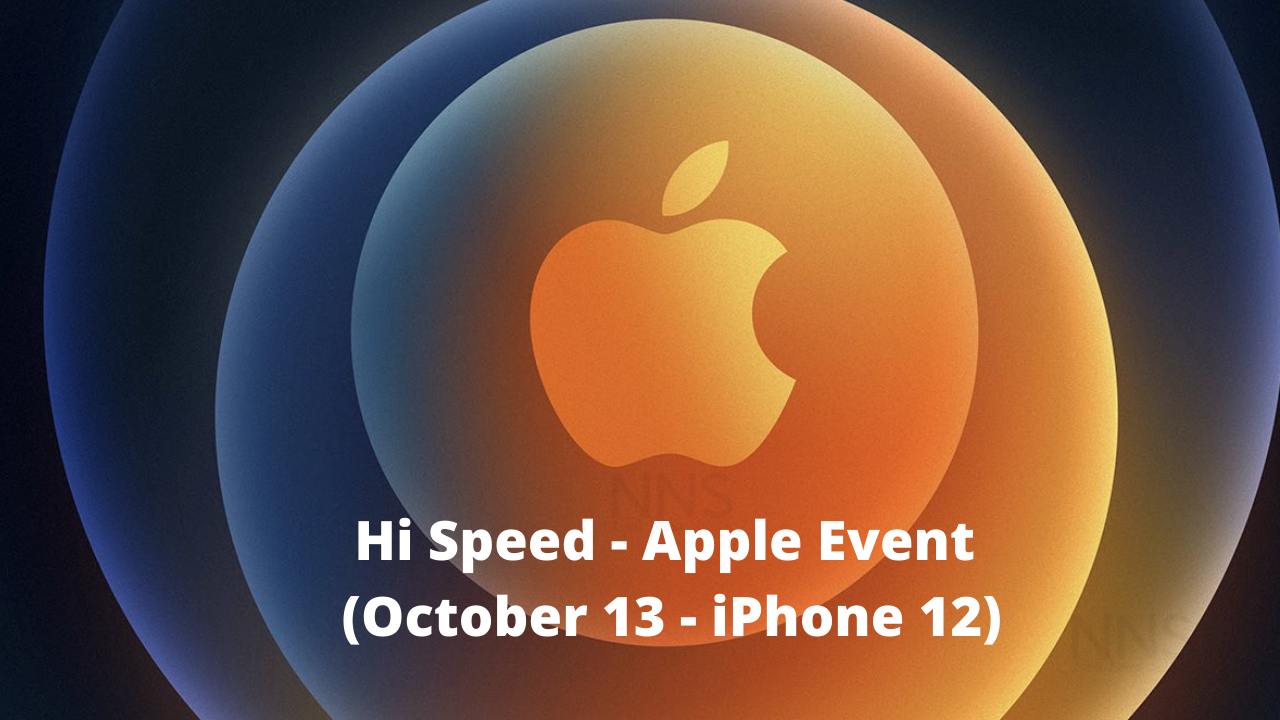 iPhone 12 Event October 13