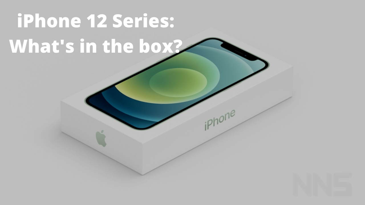 iPhone 12 series inside the box