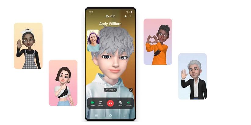 AR Emoji Video Calls