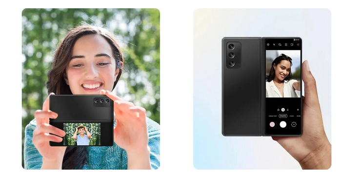 Dual Preview and Rear Camera Selfie