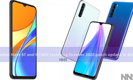 Redmi Note 8T and 9C NFC