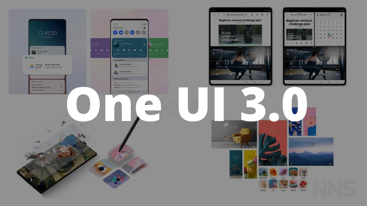 Samsung One UI 3.0 Stable update