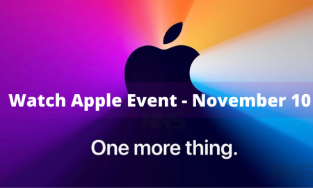 Watch Apple Event - November 10