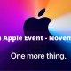 Watch Apple Event - November 10