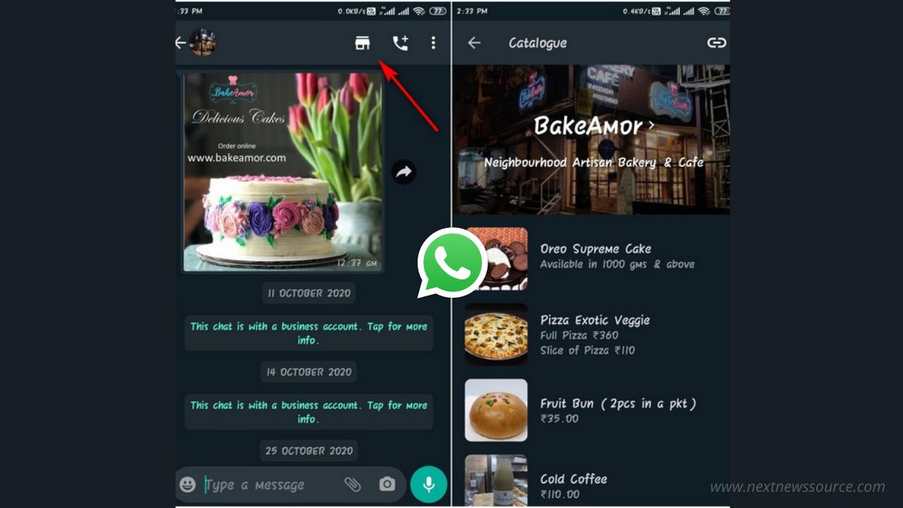 اضافه شدن گزینه خرید به واتساپ جهت سهولت در خرید
