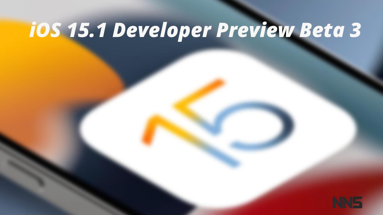 15.1 Developer Preview Beta 3
