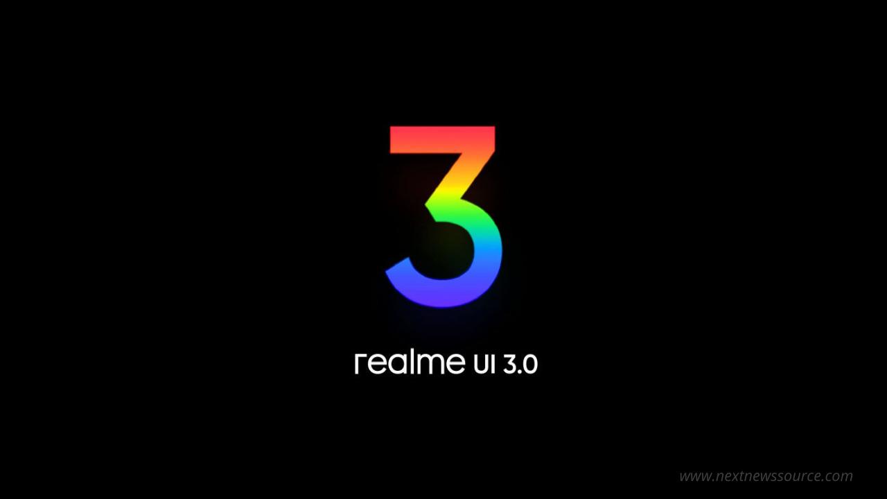 Realme UI 3 eligible devices